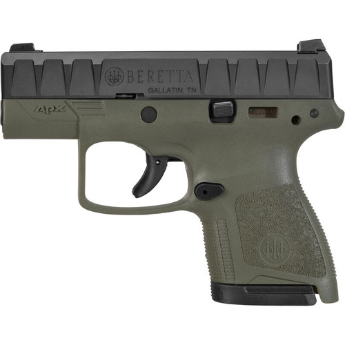 Beretta JAXN92007 APX Carry 9mm Handgun in OD Green