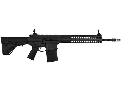 "LWRC R.E.P.R MKII 7.62 NATO Semi Auto Rifle with 16"" Spiral Fluted Barrel"