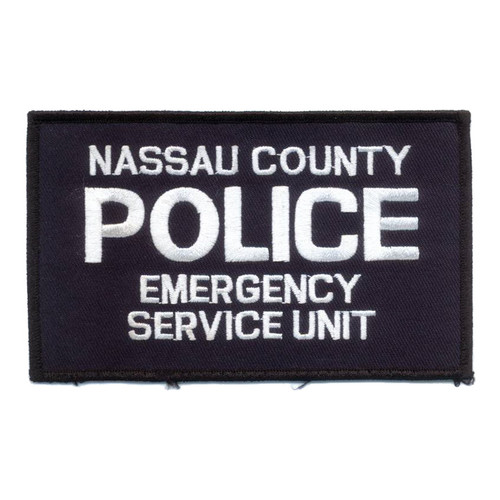 Heroes Pride Nassau County Police Emergency Servives Unit 5x3 Front Patch