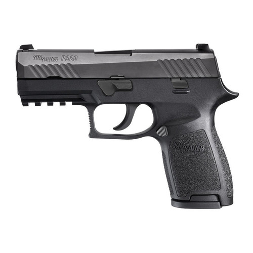 Sig Sauer W320C-9-BSS P320 Compact 9mm Handgun with Night Sights and 3 Mags