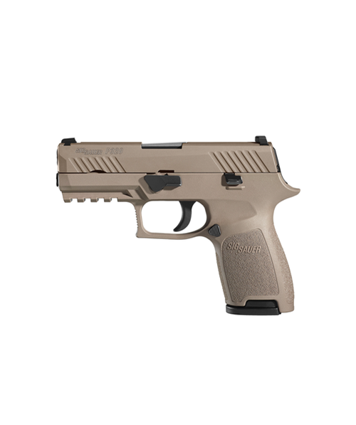 Sig Sauer W320CA-9-COY P320 Carry 9mm Handgun in Coyote