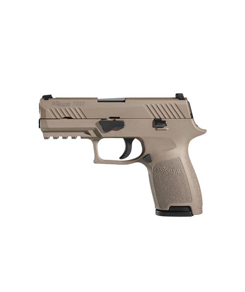Sig Sauer W320F-9-COY P320 Fullsize 9mm Handgun in Coyote
