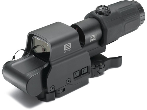 EOTech HHS-II Holographic Weapon Sight and Magnifier Combo CR123 Battery Picatinny Quick Disconnect Mount