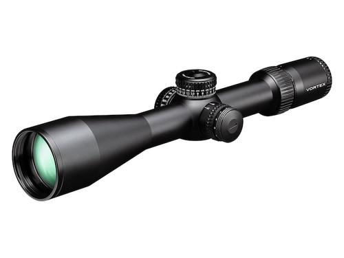 Vortex Optics SE-52503 Strike Eagle Rifle Scope 34mm Tube 5-25x 56mm Rev Stop Zero Sytem Locking Turrets Side Focus First Focal Illuminated EBR-7C MOA Reticle