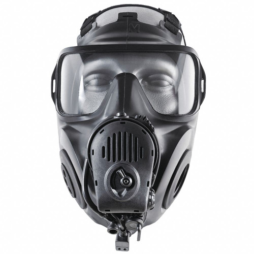 Avon Protection Systems 72601-250-1 FM53 Series Twin Port Gas Mask