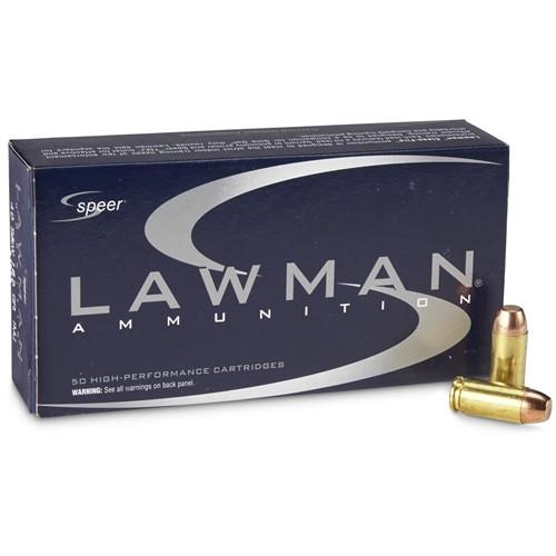 Speer Lawman 40 S&W 180gr TMJ Agency Surplus Ammo