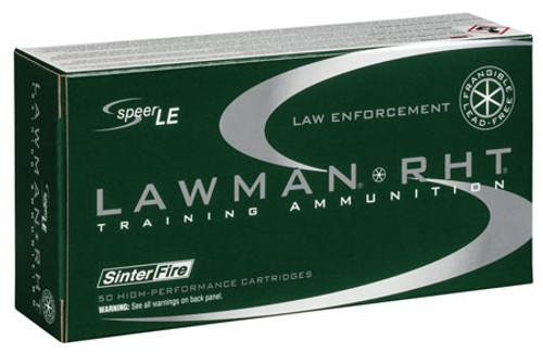 Speer Lawman RHT 40 S&W 125gr Frangible TMJ Agency Surplus Ammo