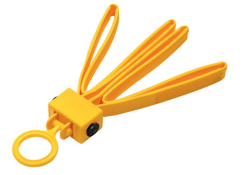 ASP 56190 Tri-Fold Disposable Restraints - Yellow