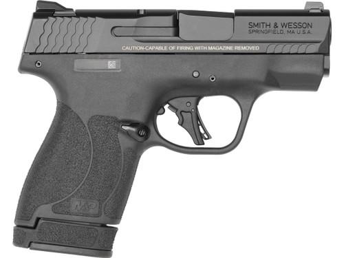 """Smith & Wesson 13248 M&P 9 Shield Plus Handgun 9mm Luger 3.1"""" Barrel Black"""