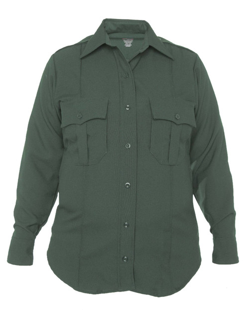 Elbeco 8802LC TexTrop2 Women's Zippered Polyester Long Sleeve Shirt