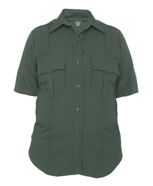 Elbeco 8804LC TexTrop2 Women's Zippered Polyester Short Sleeve Shirt