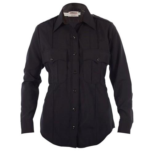 Elbeco 9340LCN Distinction Women's Poly/Wool Long Sleeve Shirt