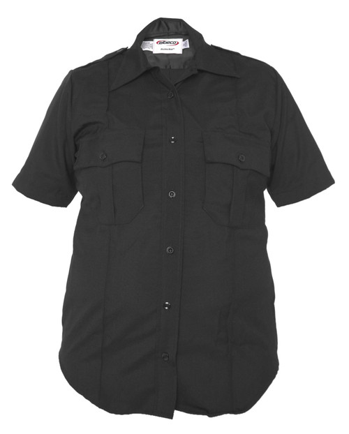 Elbeco 9841LCN Distinction Women's Poly/Wool Short Sleeve Shirt