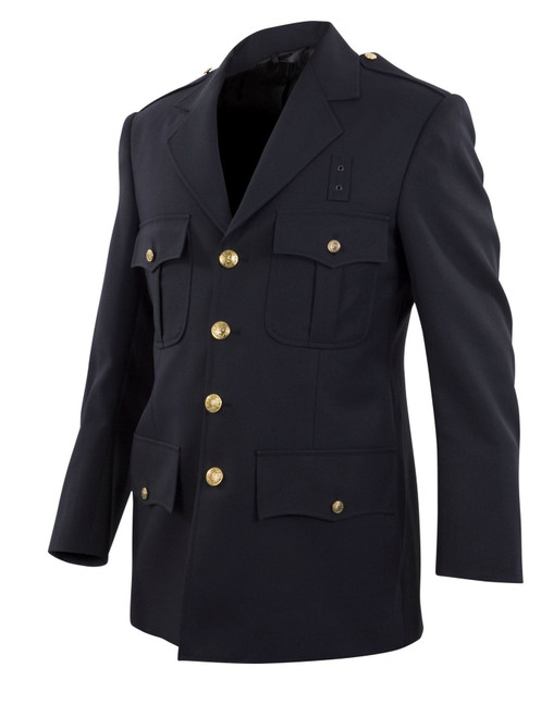 Elbeco DC13800 Top Authority Polyester Single-Breasted Blousecoat