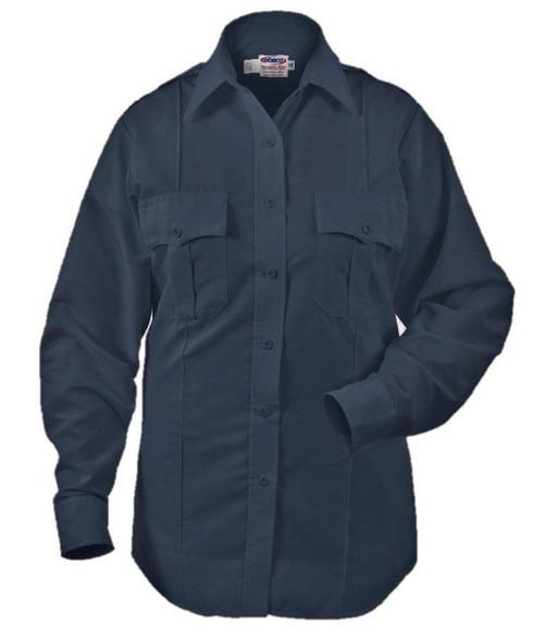 Elbeco P844LC Paragon Plus Women's Poplin Long Sleeve Shirt