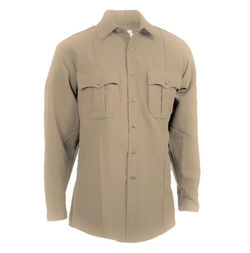 Elbeco Z312N TexTrop2 Men's Zippered Polyester Long Sleeve Shirt