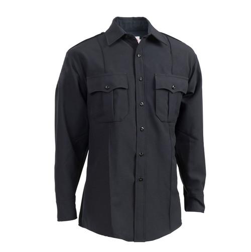 Elbeco Z314N TexTrop2 Men's Zippered Polyester Long Sleeve Shirt
