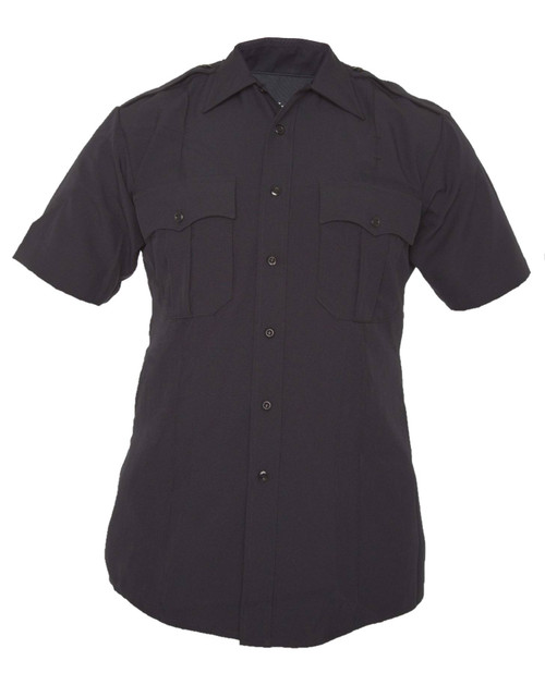 Elbeco Z3314N TexTrop2 Men's Zippered Polyester Short Sleeve Shirt