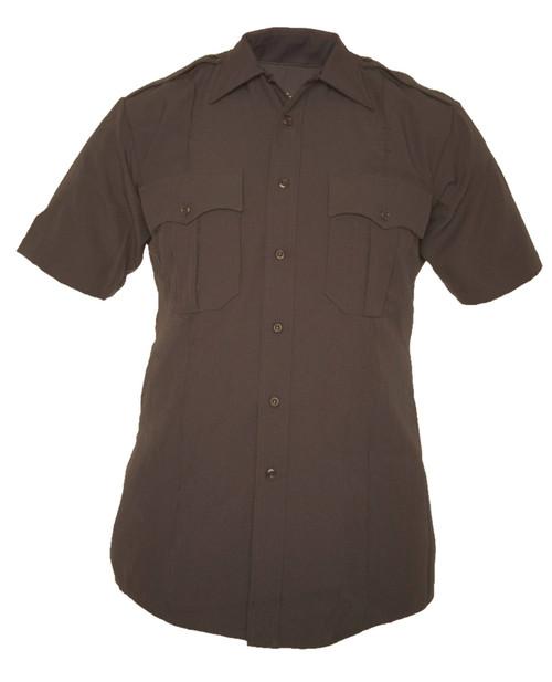 Elbeco Z3315N TexTrop2 Zippered Polyester Short Sleeve Shirt
