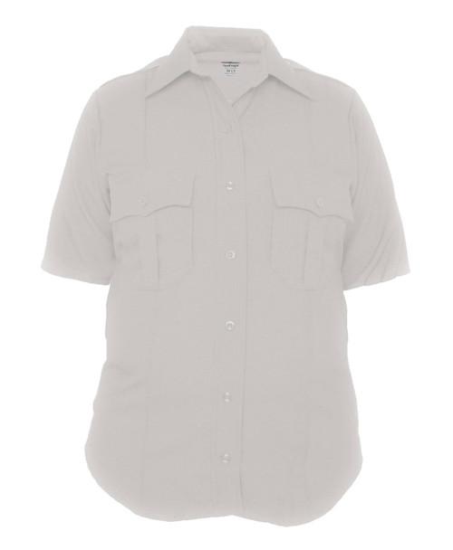 Elbeco Z9810LCN TexTrop2 Women's Zippered Polyester Short Sleeve Shirt
