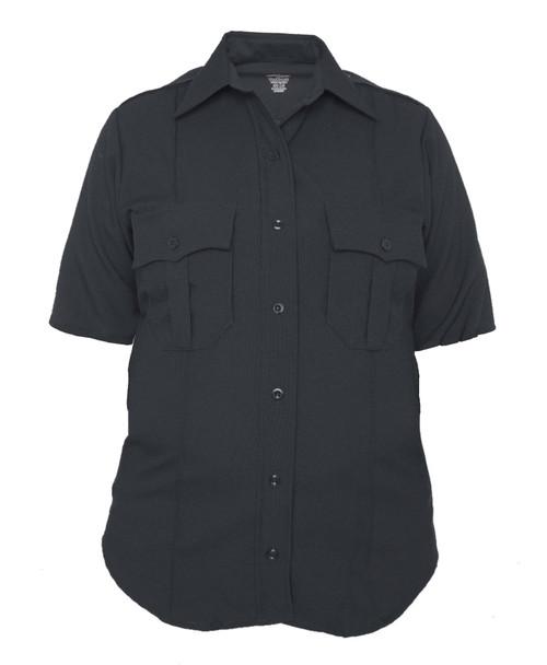 Elbeco Z9814LCN TexTrop2 Women's Zippered Polyester Short Sleeve Shirt
