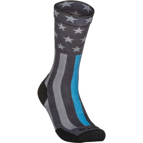 5.11 Tactical 10041AA Sock & Awe Crew Thin Blue Line