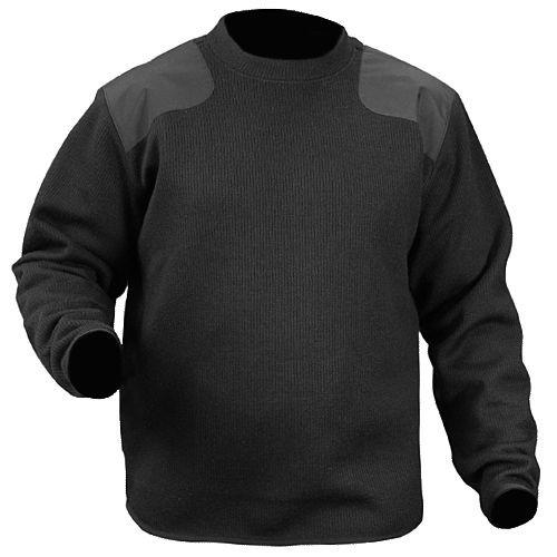 Blauer 221 Fleece-Lined Crew Neck Sweater