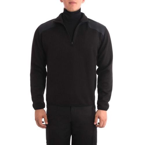 Blauer 228 Fleece-Lined Quarter-Zip Sweater
