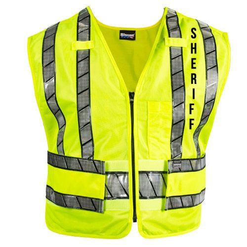 Blauer 343RS Oralite Zip-Front Sheriff Safety Vest