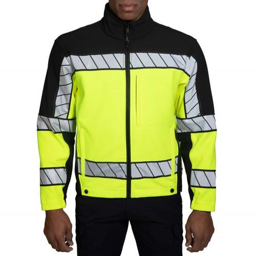 Blauer 4670 Colorblock Softshell Fleece Jacket