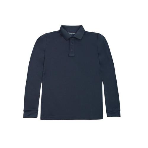 Blauer 8144 Performance Polo Long Sleeve Shirt