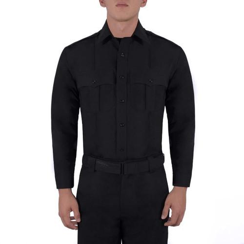 Blauer 8600Z Zippered Polyester Long Sleeve Shirt