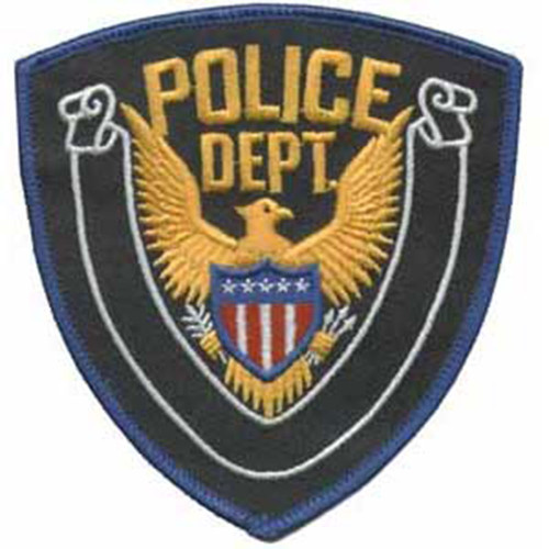 Premier Emblem Police Department Patch w/Eagle