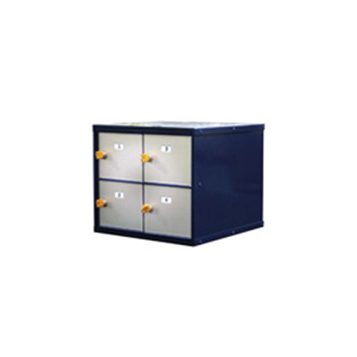 American Desk Mount Pistol Locker-4 Door