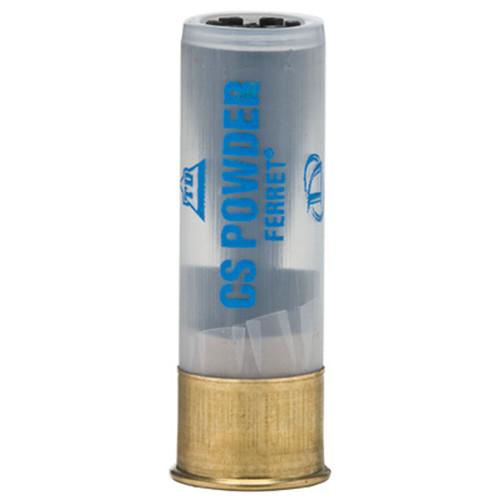 Def-Tec 12ga. CS Powder Ferret Round