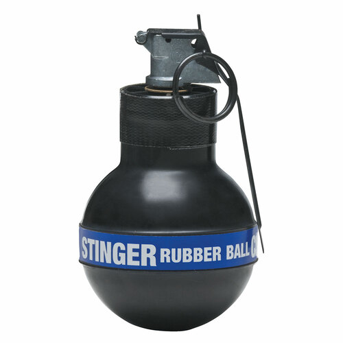 Def-Tec Stinger Rubber Ball Grenade w/CS