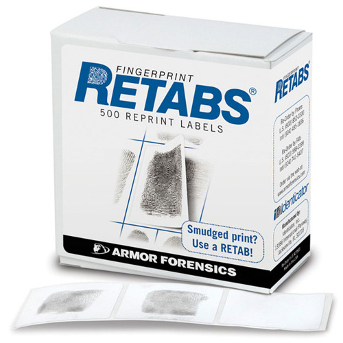 Forensics Source Identicator LE-42 Retabs (box of 500)