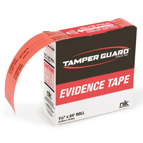 NIK BD2100-1 Tamper-Guard Evidence Tape