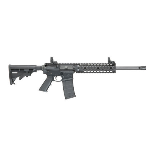 "Smith & Wesson M&P15T Rifle W/10"" Quadrail, Flip Up"