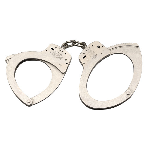 Smith & Wesson 110 Jumbo Handcuff - Nickel
