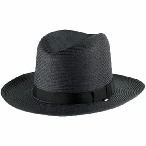 Alboum Sheriff Straw Double Brim Hat