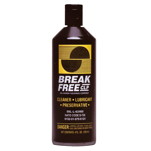 Break-Free CLP4 Gun Cleaner- 4 oz. Squeeze