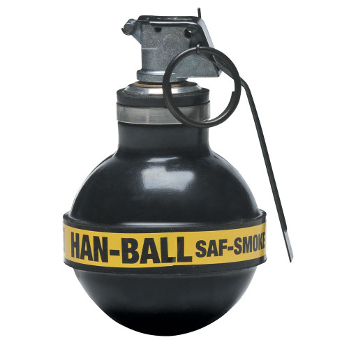 Def-Tec Saf-Smoke Rubber Ball Grenade