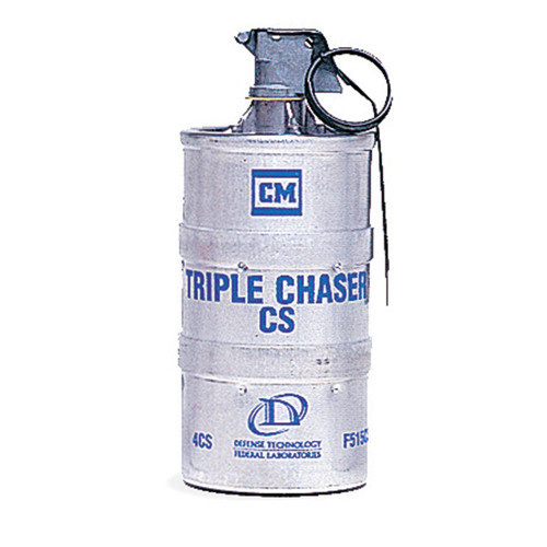 Def-Tec CS Triple Chaser Grenade