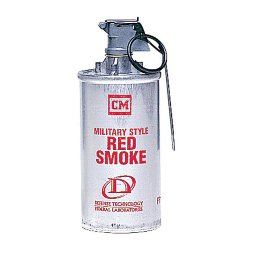 Def-Tec Smoke Grenade- Red