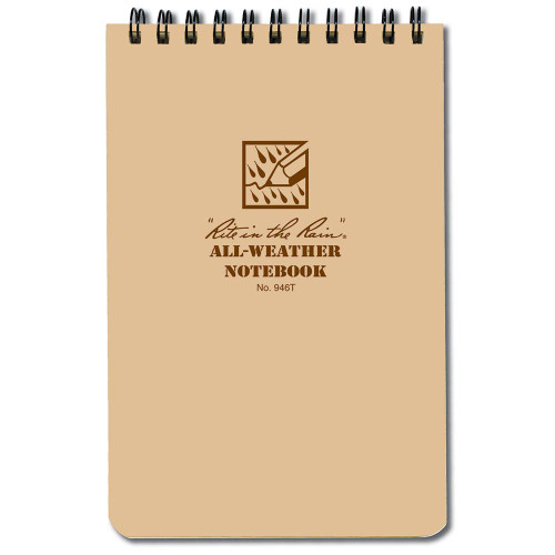 Rite In The Rain 4x6 Notebook - Tan