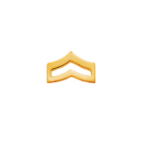 Emblem Collar Insignia- Large Corporal Chevrons
