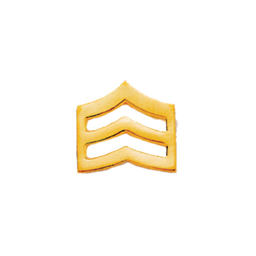 Emblem Collar Insignia- Large Sergeant Chevrons
