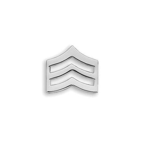 Emblem Collar Insignia- Small Sergeant Chevrons