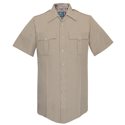 Fechheimer Men's Short Sleeve Command Poly Shirt